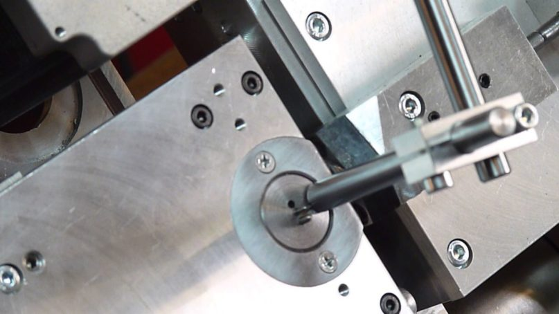 The working of CNC wire forming machine