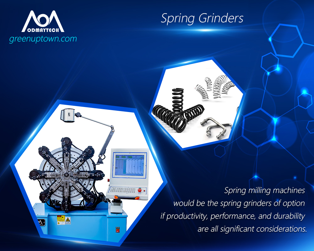 automatic spring wire forming machines