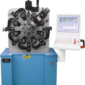 Potter cam spring forming machine